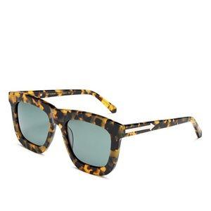 Karen Walker Deep Worship Sunglasses - Crazy Tort